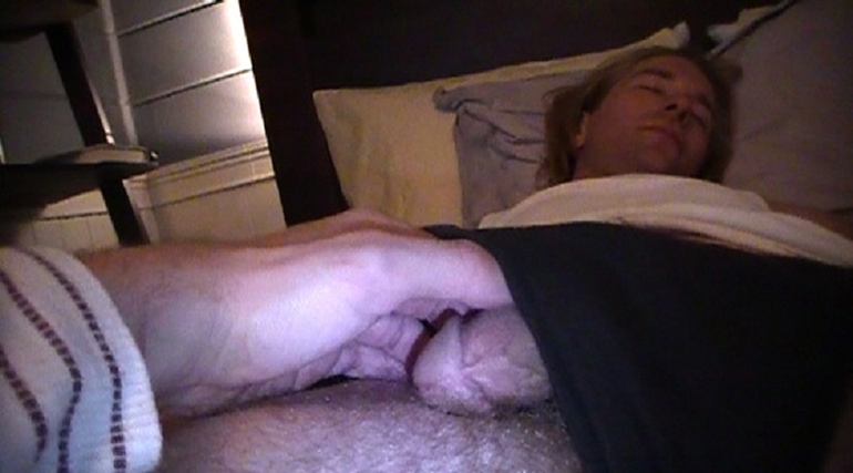 CHRIS in KNOCKED OUT JERKED OFF 5 (KOJO5)